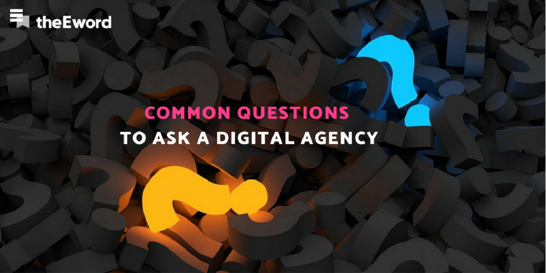 Common Questions to Ask A Digital Agency